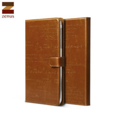 Zenus Lettering Diary for Samsung Galaxy Tab 3 8.0 - Brown