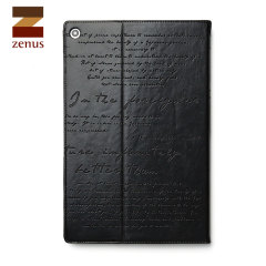 Zenus Lettering Diary for Sony Xperia Z2 Tablet Stand Case  - Black