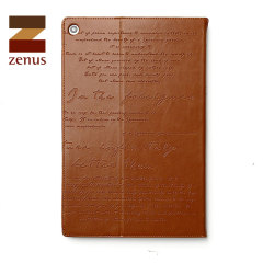 Zenus Lettering Diary for Sony Xperia Z2 Tablet Stand Case  - Brown