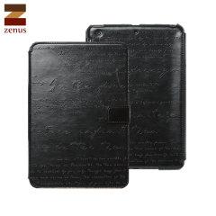 Zenus Lettering Diary iPad Mini 3 / 2 / 1 - Black