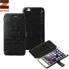 Zenus Lettering Diary iPhone 6S Plus / 6 Plus Case - Black