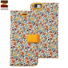 Zenus Liberty Diary iPhone 6 Case - Meadow Orange