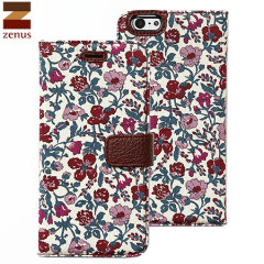 Zenus Liberty Diary iPhone 6S / 6 Case - Meadow Violet