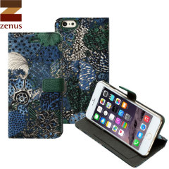 Zenus Liberty Diary iPhone 6S Plus / 6 Plus Case - Midnight Green