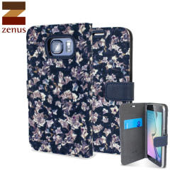 Zenus Liberty Diary Samsung Galaxy S6 Wallet Case - Ivy Navy