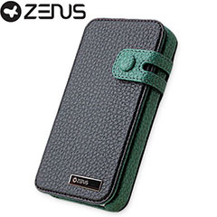 Zenus Masstige Color Edge Diary Series for iPhone 4S/4 - Real Black