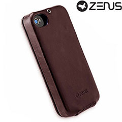Zenus Masstige Color Point Folder Series for iPhone 4S/4 - Black Chocolate