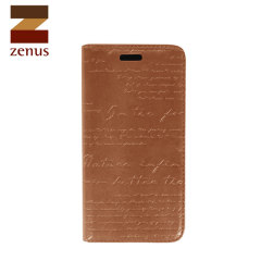 Zenus Masstige Lettering Diary Series for Huawei Ascend P6 - Brown