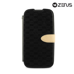 Zenus Masstige Love Craft  Samsung Galaxy S4 Diary Series Case - Black