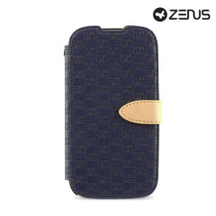 Zenus Masstige Love Craft  Samsung Galaxy S4 Diary Series Case - Navy
