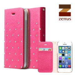 Zenus Masstige Z Brogue Diary for iPhone 5C - Pink