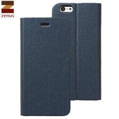 Zenus Metallic Diary iPhone 6 Case - Navy Blue