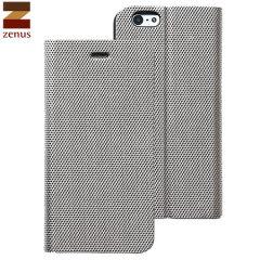 Zenus Metallic Diary iPhone 6 Case - Silver