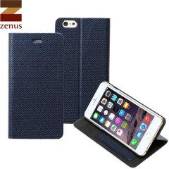 Zenus Metallic Diary iPhone 6 Plus Case - Blue