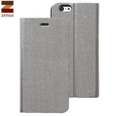 Zenus Metallic Diary iPhone 6S / 6 Case - Silver