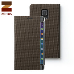 Zenus Metallic Diary Samsung Galaxy Note Edge Case - Bronze
