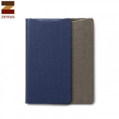 Zenus Metallic HTC One M8 Diary Case - Navy