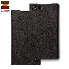 Zenus Minimal Diary Case for Sony Xperia Z1 - Black