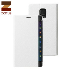 Zenus Minimal Diary Samsung Galaxy Note Edge Wallet Case - White