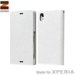 Zenus Minimal Diary Sony Xperia Z3 Case - White
