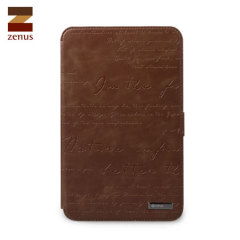 Zenus Samsung Galaxy Tab 2 7.0 Lettering Diary Case - Brown