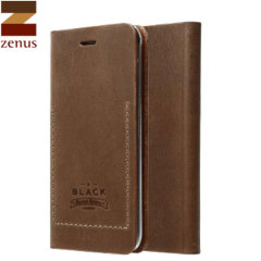 Zenus Tesoro Samsung Galaxy Note 4 Leather Diary Case - Brown