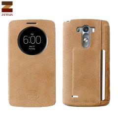 Zenus View Vintage Diary LG G3 Case - Brown