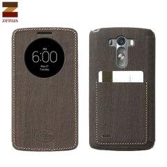 Zenus View Vintage Diary LG G3 Case - Dark Brown