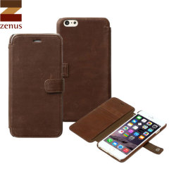Zenus Vintage Diary iPhone 6S Plus / 6 Plus Case - Brown