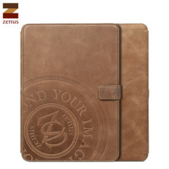 Zenus Vintage Signage Diary Case for Galaxy Note 10.1 2014 - Brown