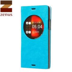 Zenus Z-View Dolmites Samsung Galaxy Note 4 Diary Case - Blue