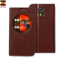 Zenus Z-View Toscana  Case for Samsung Galaxy S5 - Wine