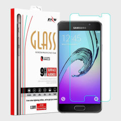 Zizo Lightning Shield Galaxy A5 2016 Tempered Glass Screen Protector