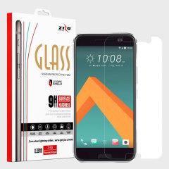 Zizo Lightning Shield HTC 10 Tempered Glass Screen Protector