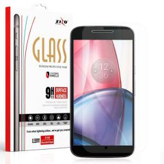 Zizo LightningShield Moto G4 Tempered Glass Screen Protector