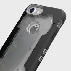 Zizo Proton iPhone 7 Tough Holster Case - Black / Clear