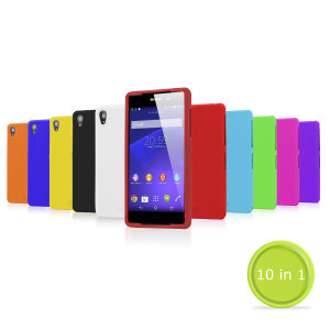 10-in-1 Silicone Case Pack for Sony Xperia Z2