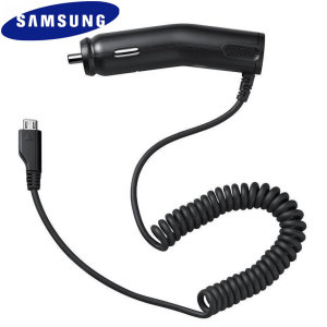 Samsung ACADU10CBE Car Charger. Make sure that your phone is always fully charged. Charges at a rate of 750 mAh.