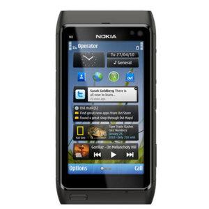 Sim Free Nokia N8 - Black