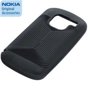 Nokia CC-1007 Silicone Cover for Nokia E5 - Black