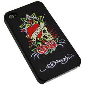 Ed Hardy Tattoo Backplate For iPhone 4