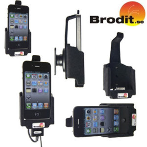 Brodit Passive Holder with Pass-Through Connector - iPhone 4