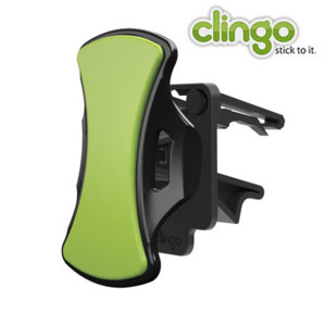 Usando la tecnología adhesiva única de Clingo, usted podrá sujetar cualquier móvil en su coche.