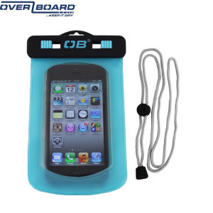 Take your Phone swimming with you thanks to this waterproof case in aqua.