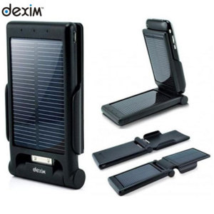 Dexim P-Flip Foldable Solar Power Dock - iPhone 3G/3GS/4