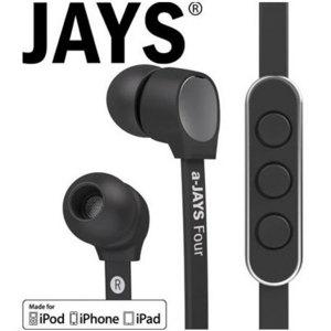 Auriculares a-Jays Four Heavy Bass Impact  para iPhone e iPod Touch