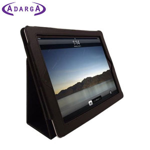 Housse iPad 4 / 3 / 2 Adarga Stand and Type - Noire