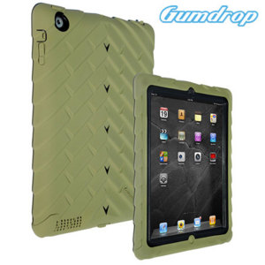 Funda iPad 4 / 3 / 2 Gumdrop Drop Series - Edicion Militar