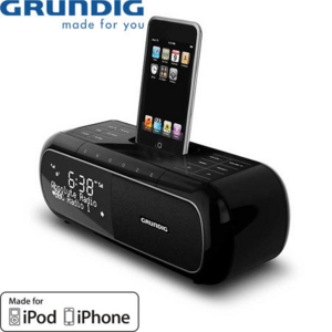 grundig dab radio alarm clock dock for iphone and ipod reviews comments. Black Bedroom Furniture Sets. Home Design Ideas