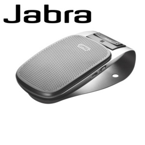 A simple yet powerful Bluetooth Car Kit from Jabra with voice guidance to keep your eyes on the road.